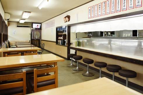 福山 万ぷく食堂、店内の雰囲気