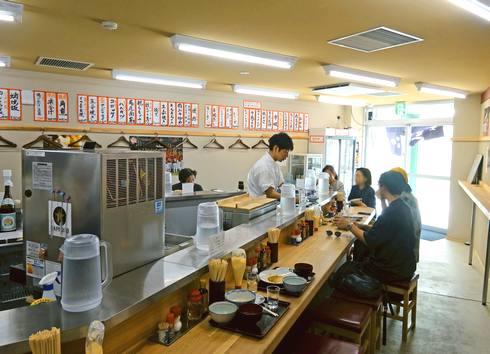 尾道駅 食堂ミチ 店内の様子