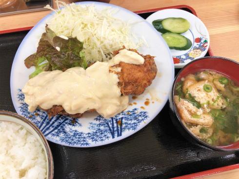 尾道駅 食堂ミチ 備後南蛮定食