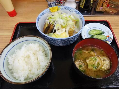 尾道駅 食堂ミチ 角煮定食
