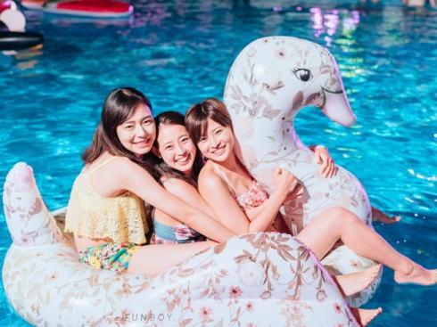 CanCamナイトプール in広島、グランドプリンスホテルに2019も