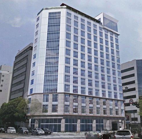 広島平和大通りに新ホテル「ザ ノット広島」