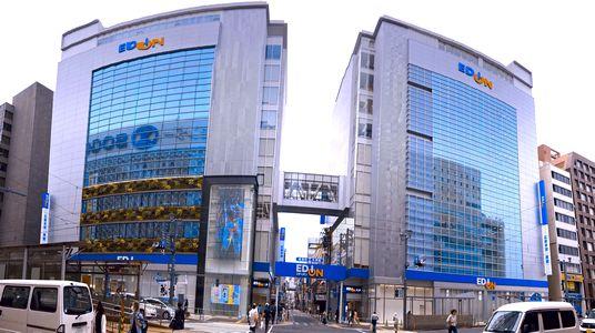 エディオン広島本店、ツインタワーが6月21日オープン