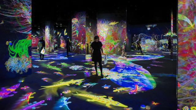 チームラボ「学ぶ!未来の遊園地」広島で夏休み期間に開催