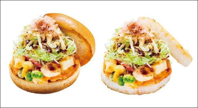 お好み焼き風バーガー、広島のモス限定で発売