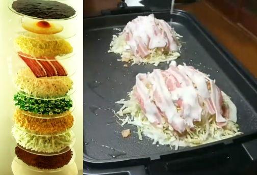 ホットプレートでレッツトライ!広島・お好み焼きの作り方