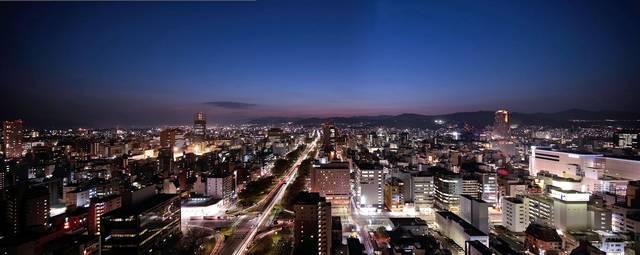 オリエンタルホテル広島 夜景