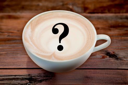 喫茶ポルノのメニュー「ランダムリリックラテ」