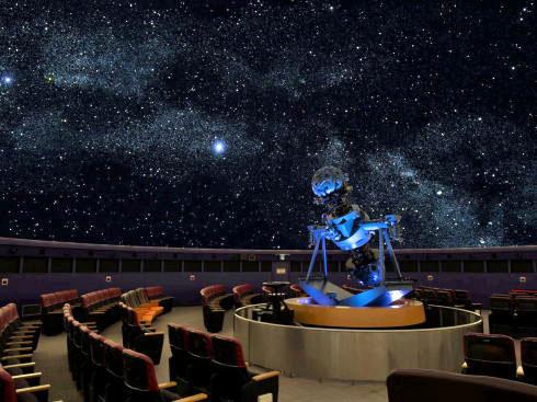 広島市こども文化科学館の4Fに、新しくなったプラネタリウム!