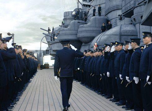 戦艦大和が最新技術で蘇る、映画「アルキメデスの大戦」呉でロケも