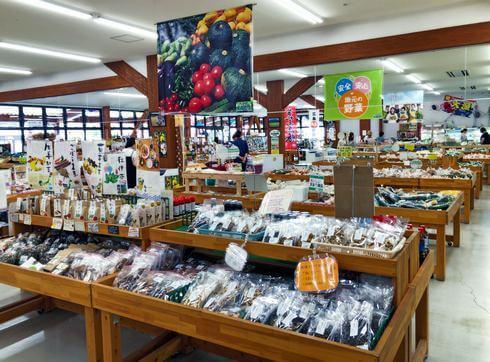 八千代産直市場、広島県北の新鮮野菜やフルーツが揃う