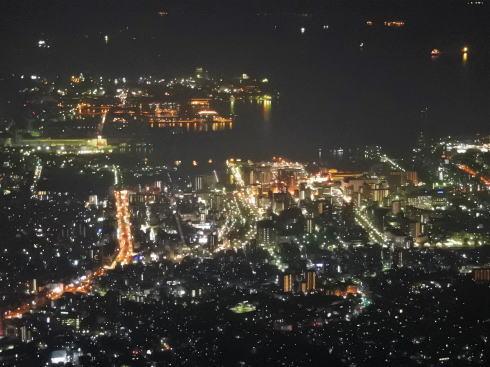 広島県呉市 灰ヶ峰の夜景写真2