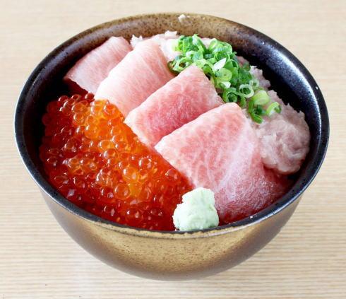 カープ海勝丼 盛り付けイメージ