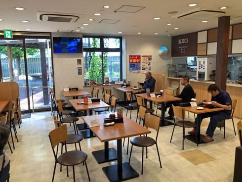沼田PA(上り)飲食コーナー