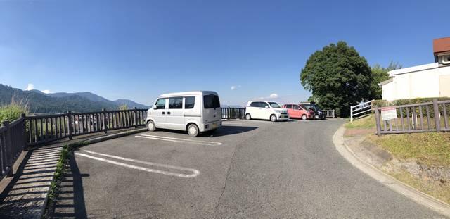奥屋PA(上り線)ウエルカムゲート用の駐車場