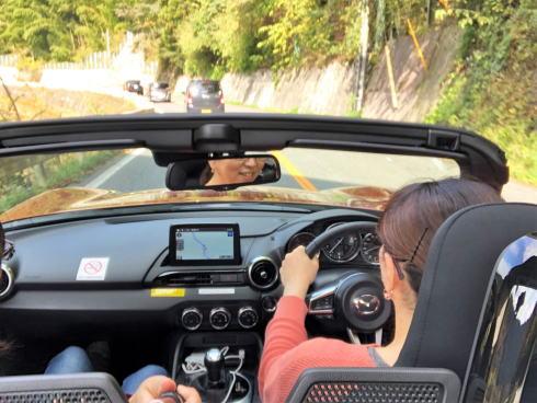 マツダロードスター レンタルが特別価格、広島観光オープンカーでしてみないか