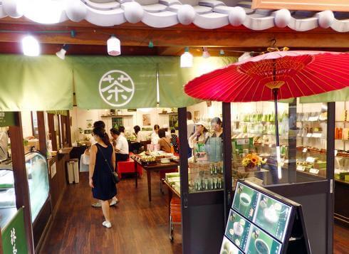 茶和々(さわわ)宮島の抹茶スイーツ店、わらび餅や夏はふわふわ雪氷も