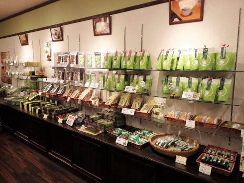 宮島 抹茶スイーツ処 茶和々(さわわ)店内の様子