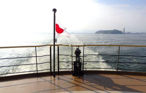 シーパセオ3F 船尾からの眺め