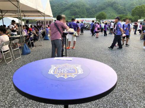 サンフレッチェ広島 スタジアムグルメ おまつり広場2