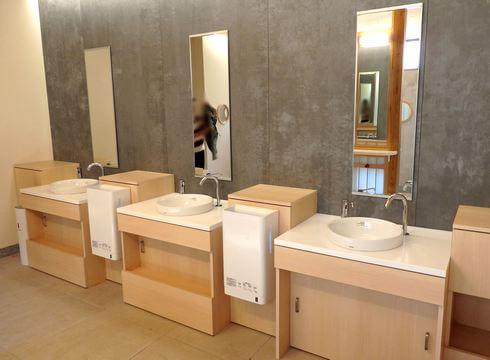 toto宮島おもてなしトイレ 洗面所