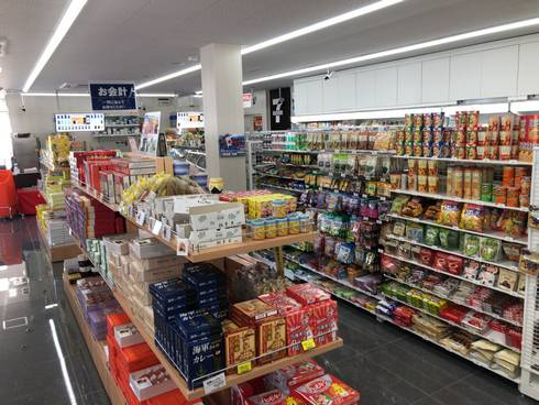 八幡PA(上り線)土産コーナー
