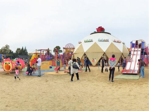 大型遊具がある公園 富谷ドームランド(富谷公園)