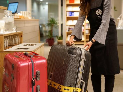 エクボクローク そごう広島で荷物預かりサービススタート