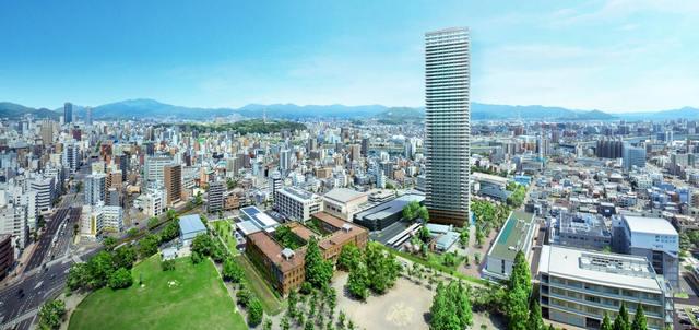 hitoto広島ザ・タワー完成イメージ図