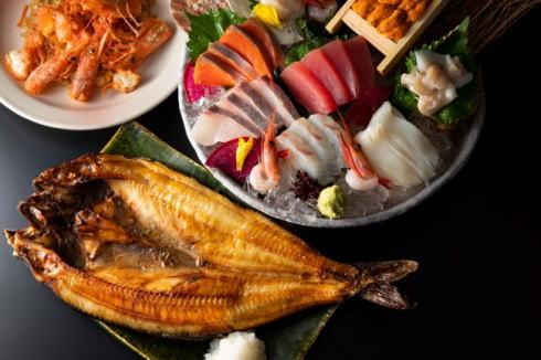 北の味紀行と地酒 北海道 料理例
