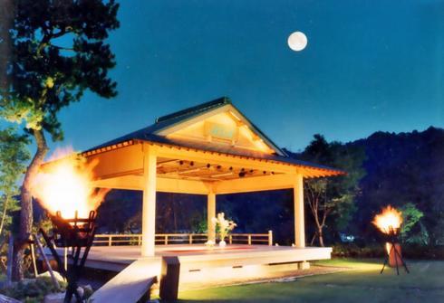 賀茂川荘 能舞台『月花殿』