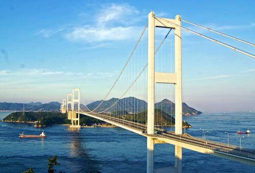 来島海峡大橋 しまなみ海道登頂体験ツアー