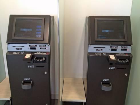 リッチモンドホテル福山駅前 自動精算機
