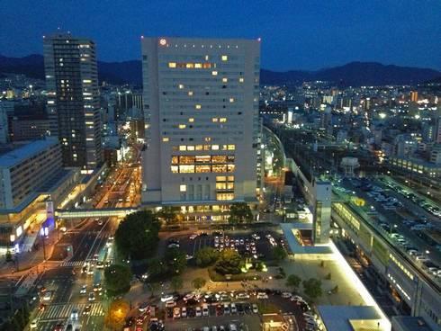 シェラトングランドホテル広島 夜景