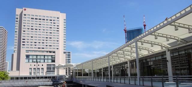 シェラトングランドホテル広島 広島駅新幹線口前