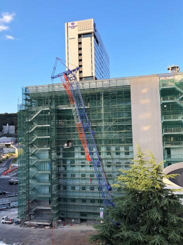 ヴィアイン広島新幹線口 建設中の様子2