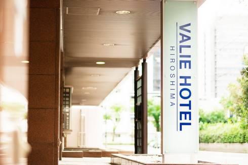 ヴァリエホテル広島 入口