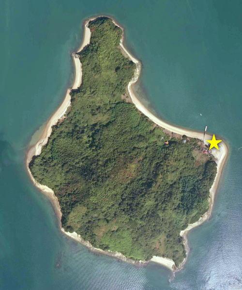 広島県・加島に、ベラビスタ アイランドビーチ