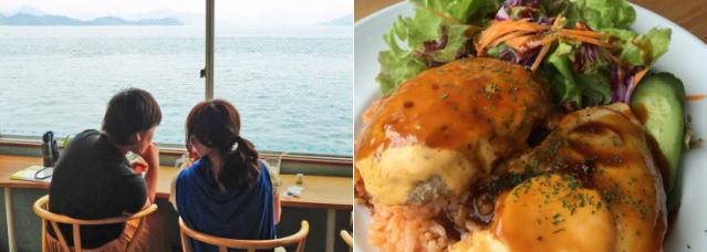 海カフェ Nejiro(ネジロ)、三原の海を独占できるのんびりカフェ