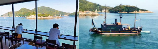 鞆の浦の絶景カフェ SHION(シオン)福山で時間を忘れる癒し空間