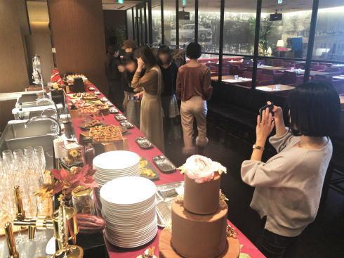 オリエンタルホテル広島 チョコレートブッフェ  会場の様子2