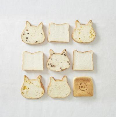 ねこねこ食パン ラインナップ