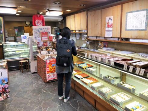 東城の御菓子処 伸城堂 店内の様子