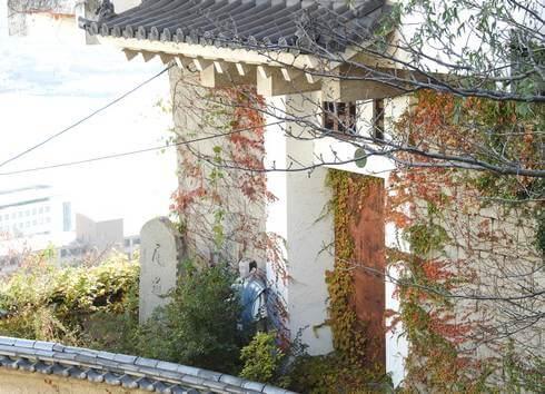 全国城の博物館 尾道城の入口