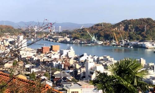 尾道城からの眺め