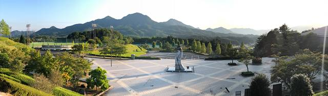 佐伯総合スポーツ公園 俯瞰写真