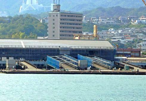 宮島口桟橋から、厳島港へ!変わりゆく宮島口桟橋の風景