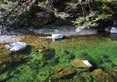 三段峡の魅力的な風景と紅葉5