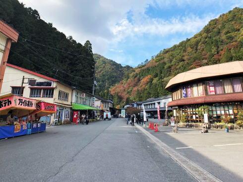 広島・三段峡 正面口の様子1