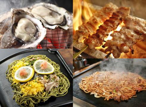 せとうちグルメフェス、牡蠣・瓦そばなど瀬戸内グルメが集結する大型フェス